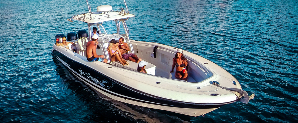 Arrive at Adventure with Boat Charters