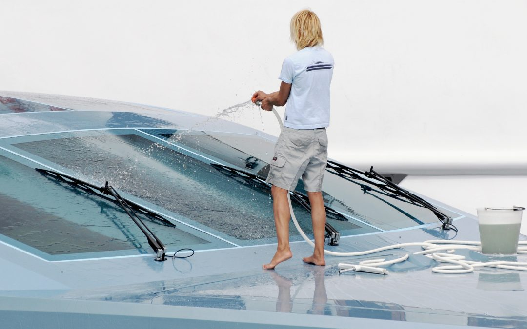 Top Tips for a Clean and Green Boat