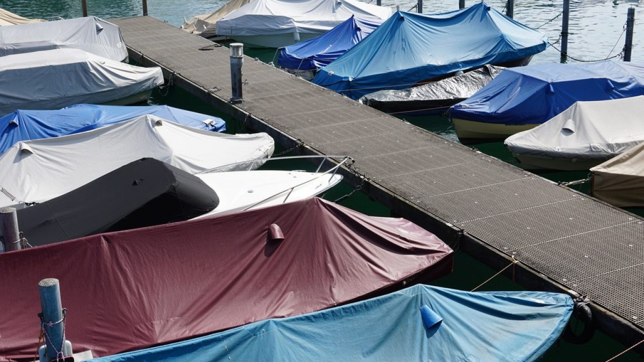 Boat Cover Budge B-1220-X6 Gray 20-22 Long Beam Wdith Up to 106