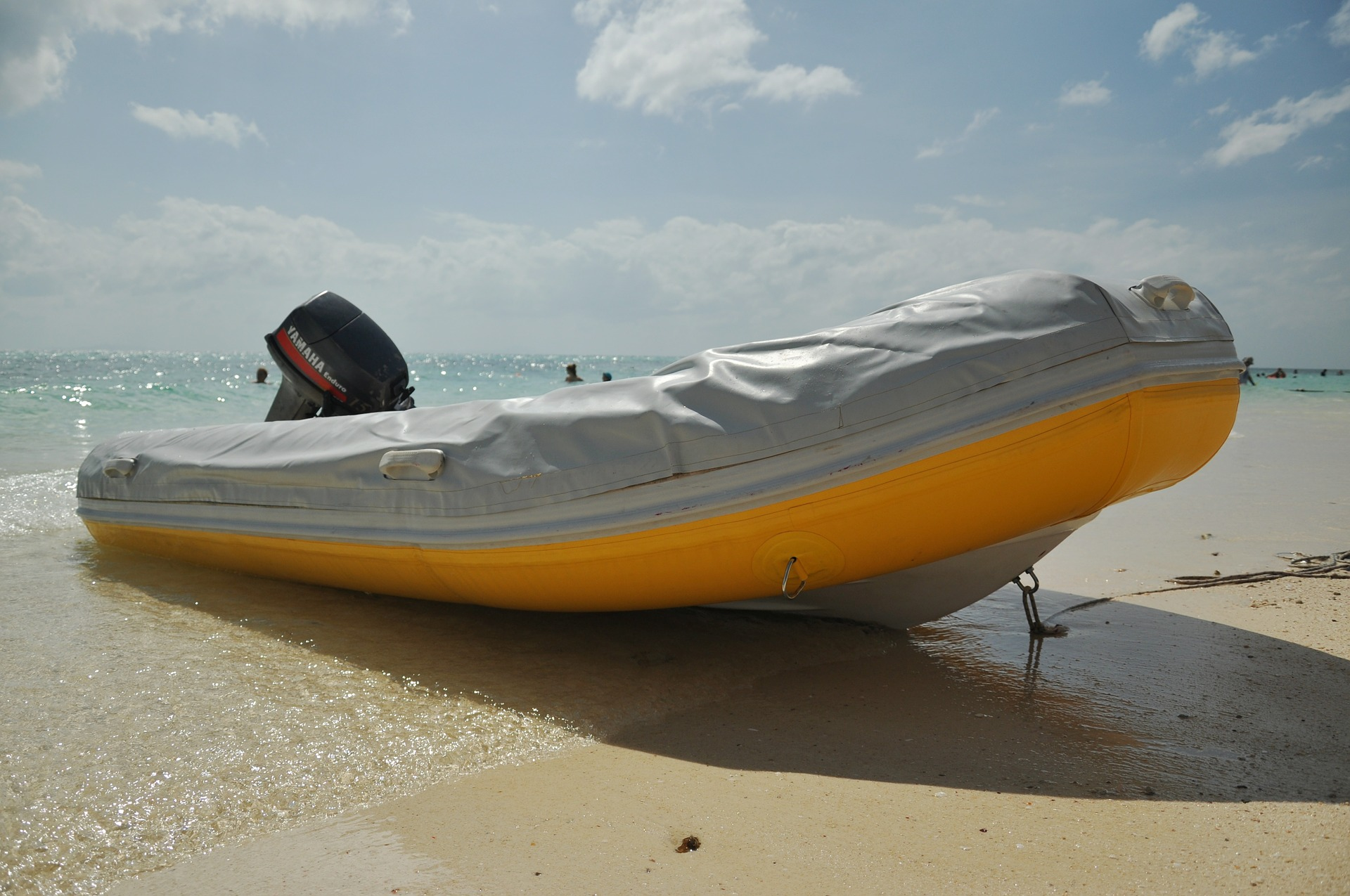 best inflatable boat at the seashore